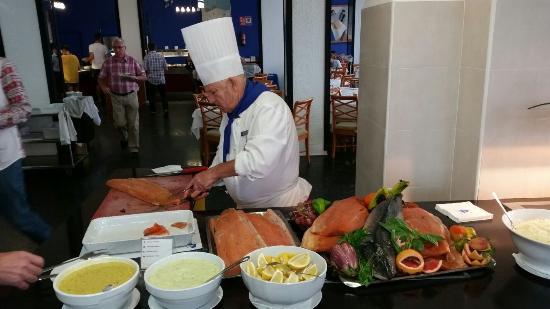 azuLine Hoteles Mar Amantis I & II: Restaurant