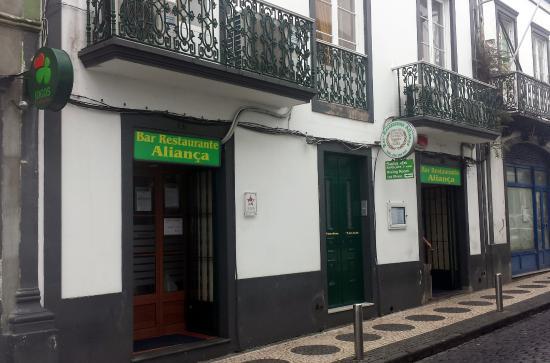 Bar Alianca: Bar Restaurante Aliança - Ponta Delgada