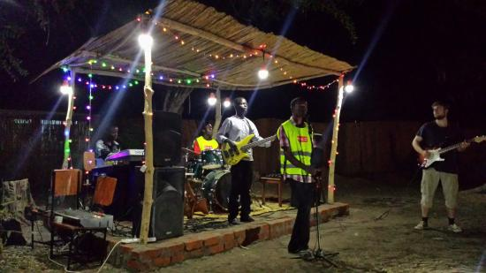 "Nkhotakota, Malawi: This is from a concert on the small stage behind the kitchen. It took place in October 2015. ""Th"