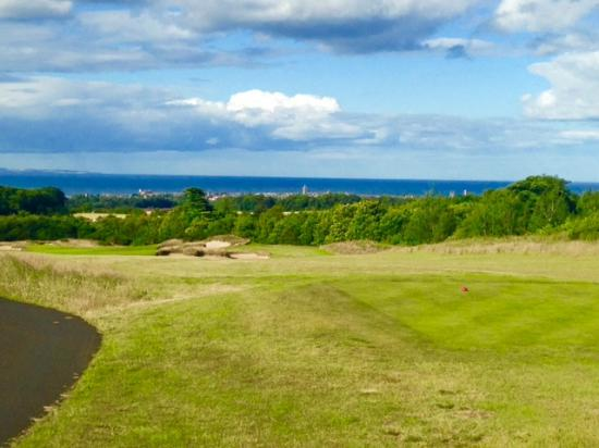 The Duke's St Andrews: From the Duke's Course, overlooking St. Andrews - July 2015