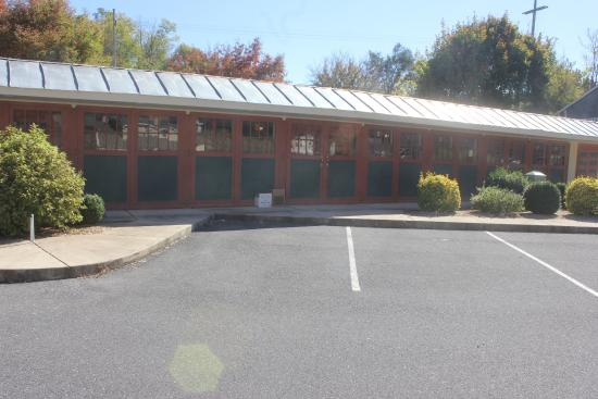 Staunton, VA: Building is long and narrow converted barn/stables.