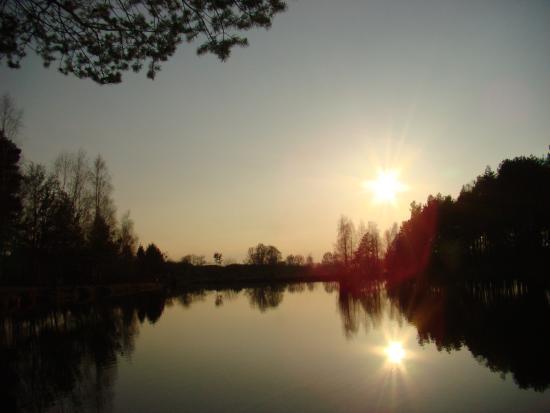 Rybnik, بولندا: Zachód słońca w Taak Ryba Sumina