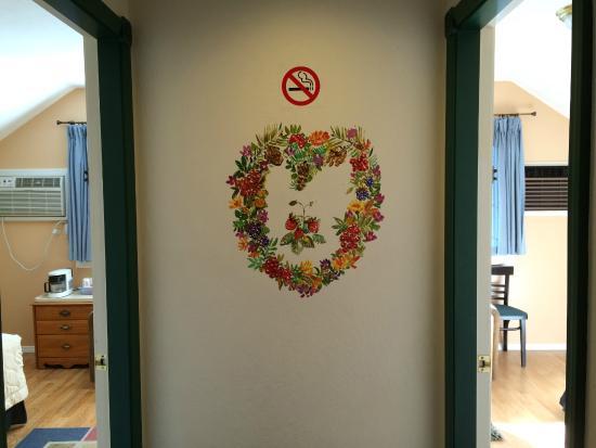 Strawberry, CA: pintura de parede