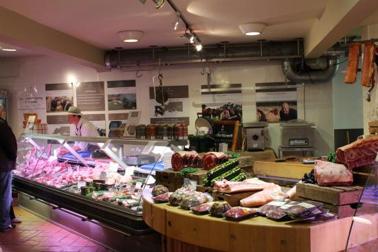 Darts Farm: Butchery department