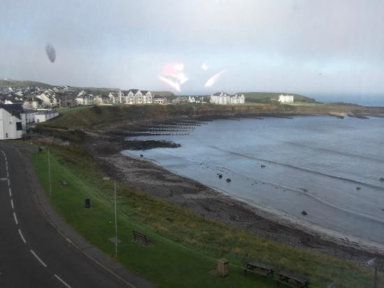 View of Portballintrae bay from our room