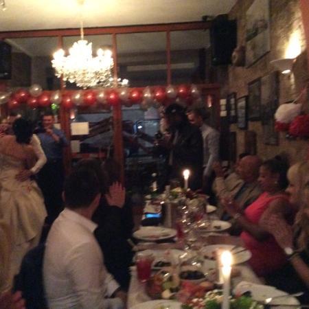 Nona Restaurant and Pizzeria: A  wonderful wedding at Nona Kilburn
