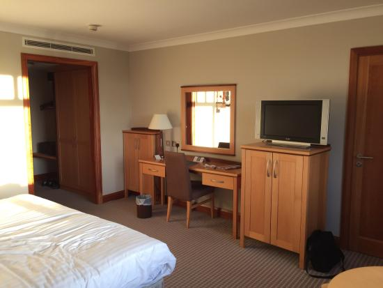 Ballincollig, Ierland: This is the room where I stayed during my 2 day trip.