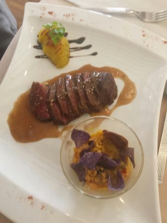 Profiteroles de queue de boeuf photo de restaurant for Restaurant itxassou