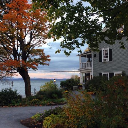 Lake Champlain and North Hero House