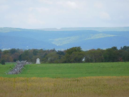 The Doubleday Inn: Battlefield From Doubleday Inn