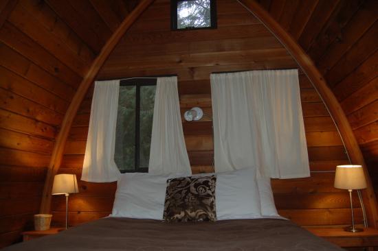 Egmont, Canada: bedroom