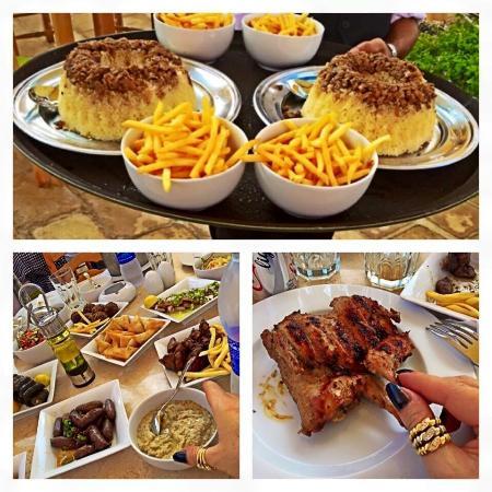 Andrea El Mariouteya Social Photos, Faisal Cairo Restaurant Photos