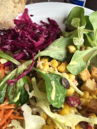 Hotel Bienenberg: Salat vom Buffet