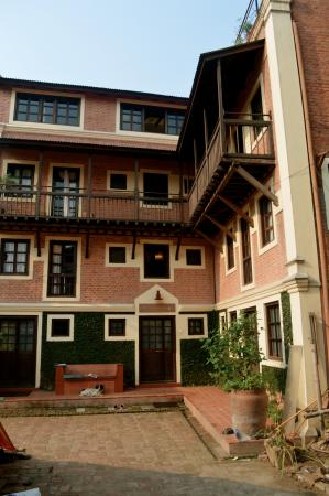 Milla Guesthouse Bhaktapur: Outside of the guesthouse