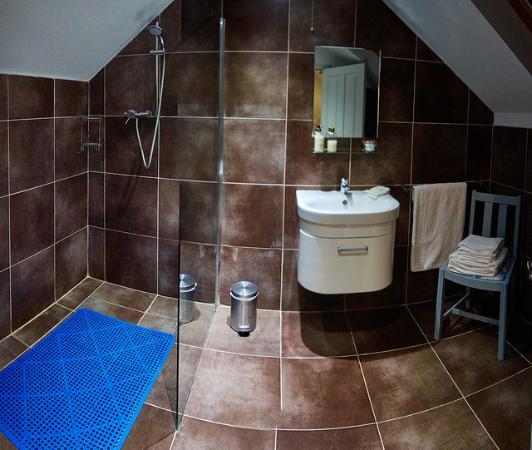 Dulcote, UK: Bathroom