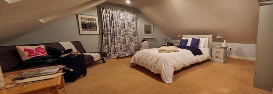 Dulcote, UK: Room-Super Comfy Bed
