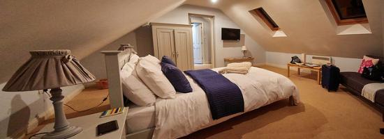 Dulcote, UK: Room