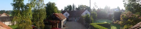 Dulcote, UK: View from our window