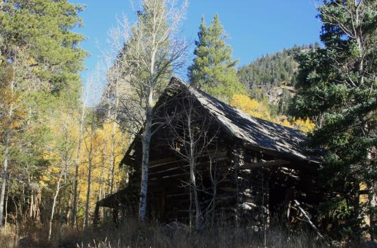 Nederland, CO: Rustic Cabin Near the Trail
