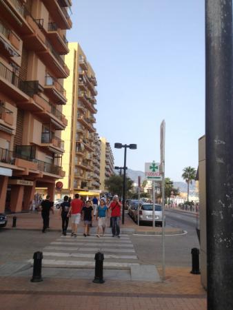 Hotel El Puerto by Pierre & Vacances: rue de l'hotel