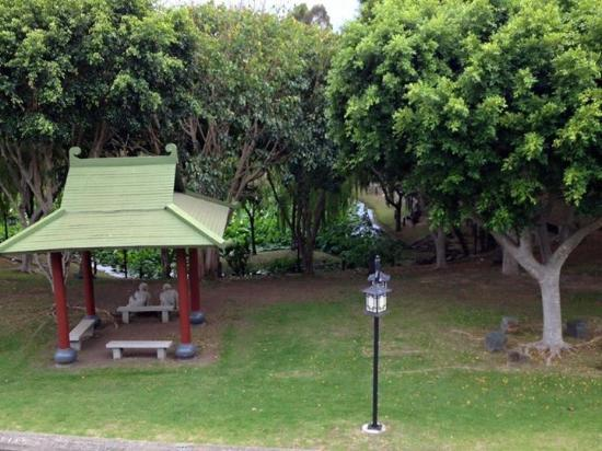 Nan Tien Temple Pilgrim Lodge: View from front rooms