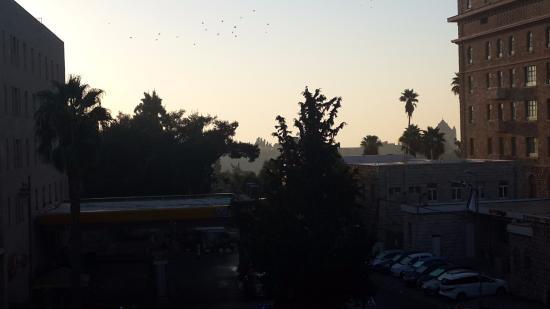 Eldan Hotel: Вид из окна