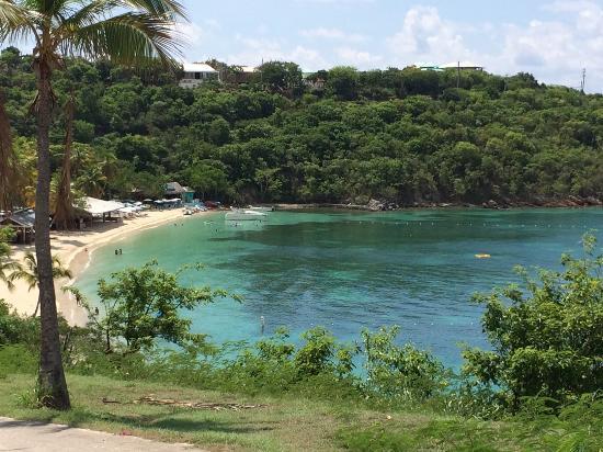 Beautiful Honeymoon Beach On Water Island