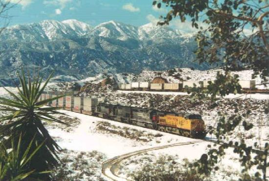 Cajon Pass: Winter in Cjon is Beautiful