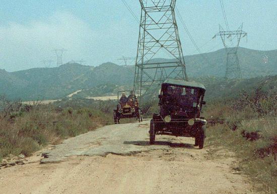 Cajon Pass: The original 1910 roadway (Pre-Hiway 66)