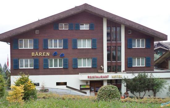 Hotel Restaurant Baeren: Hotel Baren in Wengen