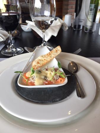 Miguel Torres Wine Restaurant: Entrada del menu