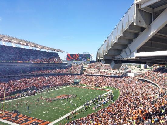 paul brown stadium picture of paul brown stadium cincinnati