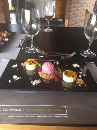 Miguel Torres Wine Restaurant: Postre del Menu