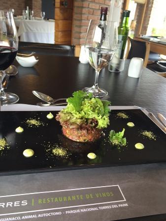 Miguel Torres Wine Restaurant: Entrada