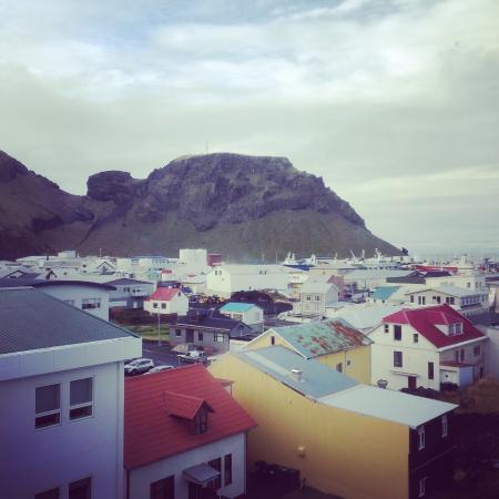 Hótel Þórshamar: The view from the room