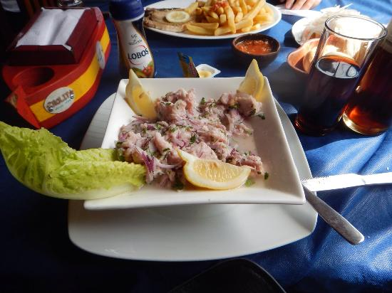 Cholit: Ceviche de reineta