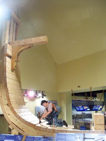 New Brunswick Museum: ship building