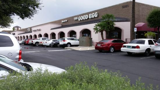 The Front of the Good Egg on Broadway