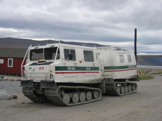 Kangerlussuaq, Groenland: Hvis nu det bliver vinter må man have et ordentligt køretøj