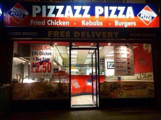Best Pizza Kebab On Burgess Road Pizzazz Pizza