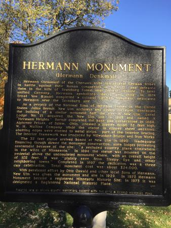 New Ulm, MN: Hermann the German