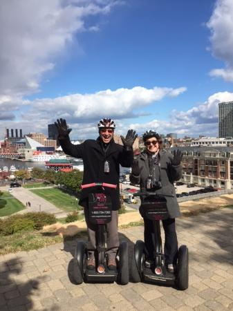 Segs in the City Baltimore: Segway Tour of Baltimore