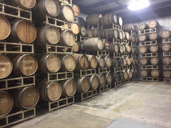 The barrel room - Picture of Allagash Brewery, Portland - TripAdvisor