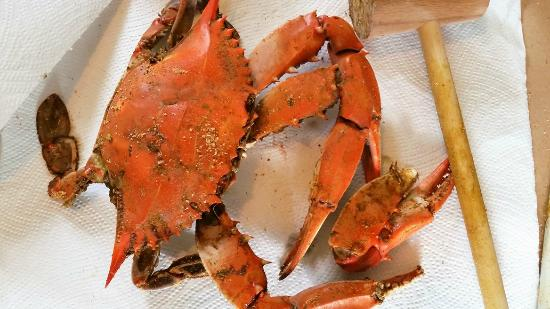 The Tap Room: Tap Room Crab
