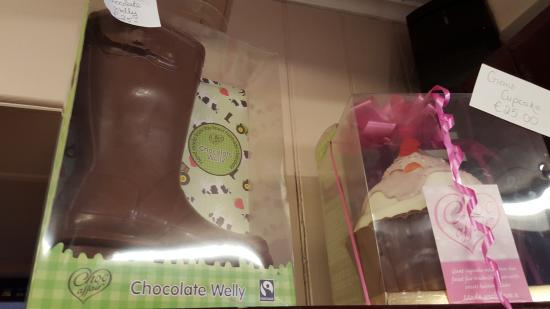 Lily O'Briens - The Chocolate Cafe: Interesting Items at Carter's Chocolate Cafe