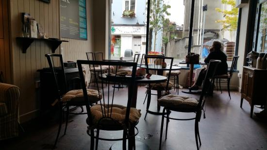 Lily O'Briens - The Chocolate Cafe: Seating Area at Carter's Chocolate Cafe