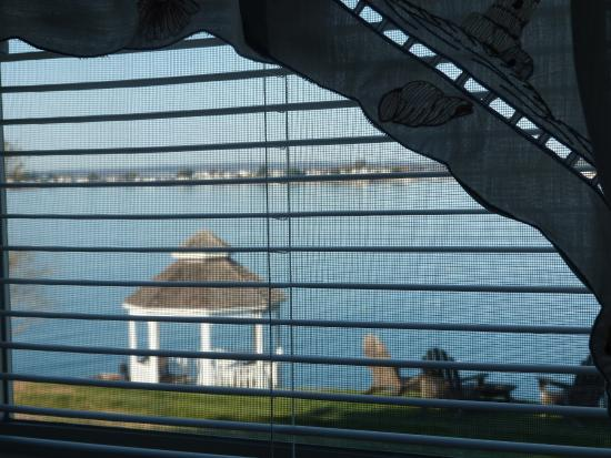 Sea Escape Cottages: View From Single Bedroom in Sea Escape Cotage #4