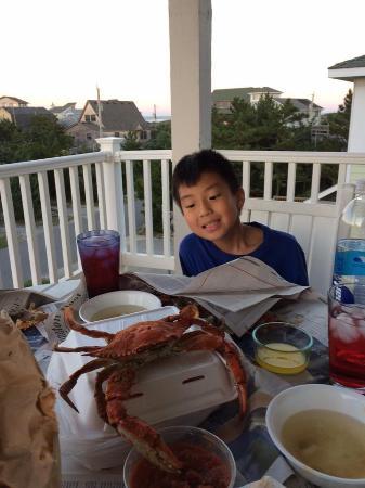 Daniels' Whalebone Seafood Market : Now THAT's a NC Crab.