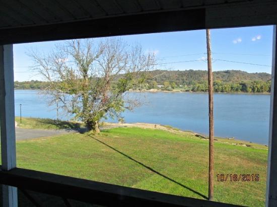 Welch's Riverside Restaurant: River view
