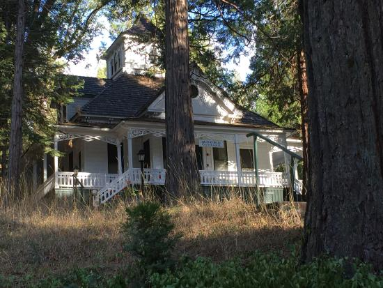 "Wawona, CA: One of the ""cottages"" behind the Hotel"